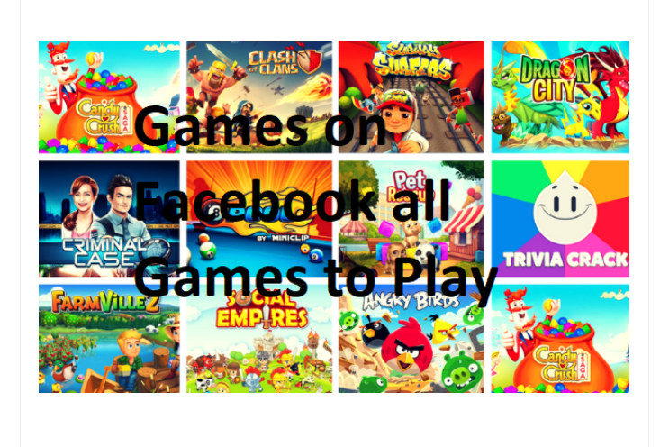 Facebook Games Room