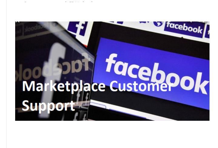 Facebook Marketplace Customer Service