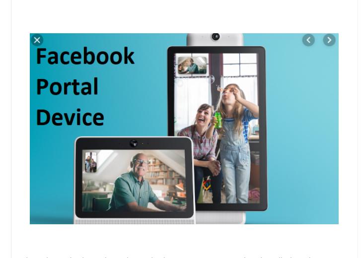 Facebook Portal Device