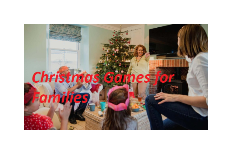 Families Christmas Games