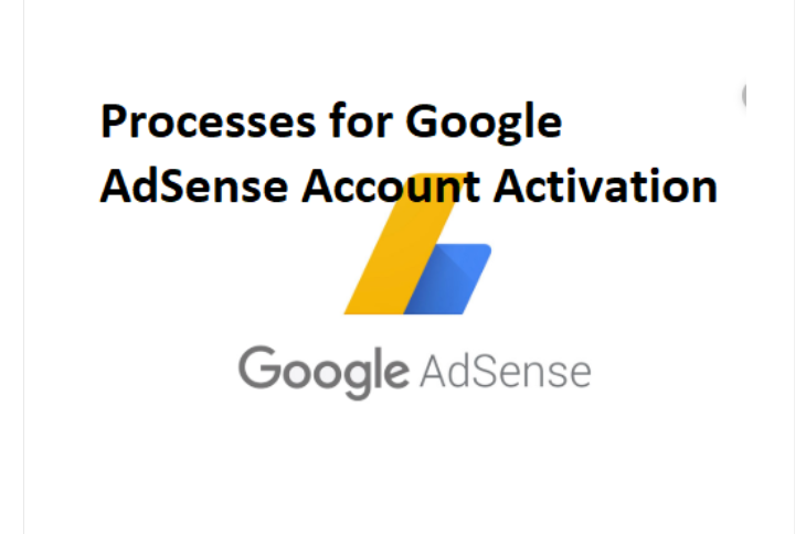 Google AdSense Account Activation