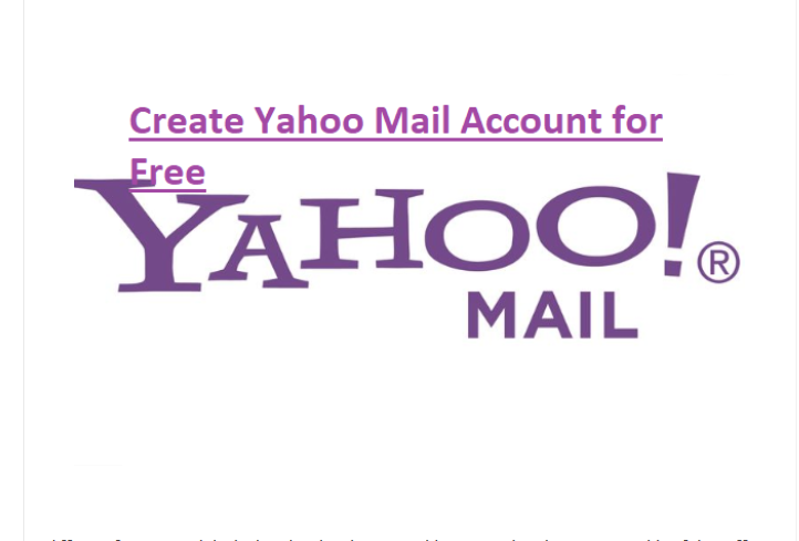 Register Yahoo Email Account
