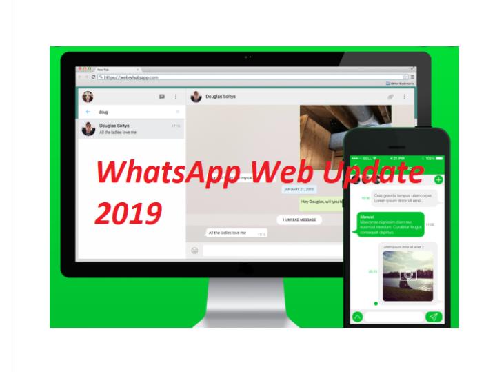 WhatsApp Web New Update