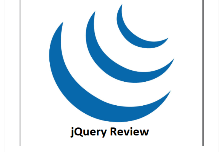 jQuery Review