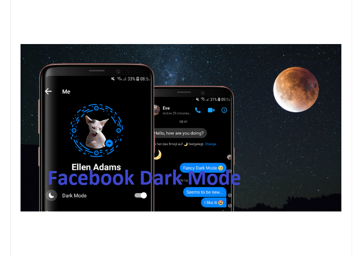 Dark Mode For Facebook