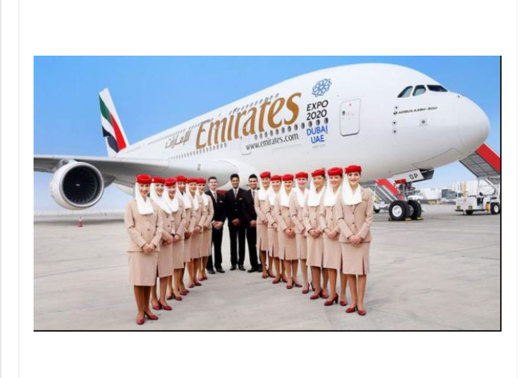 Emirates Airline Ticket Booking
