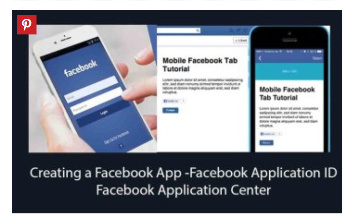 Facebook Application Center