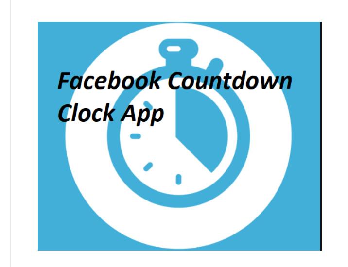 Facebook Countdown Clock App