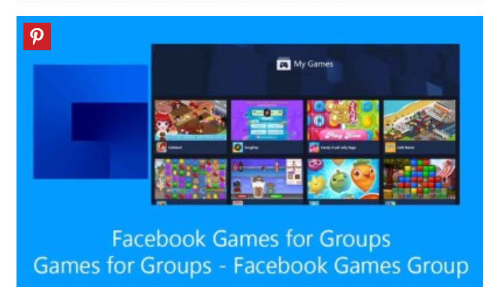 Facebook Games for Groups