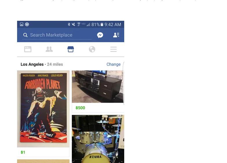 Facebook Marketplace?