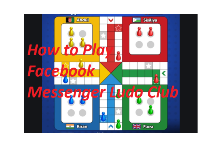 Facebook Messenger Ludo Club Game