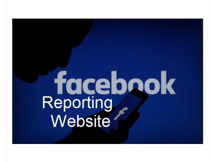 Facebook Reporting Center