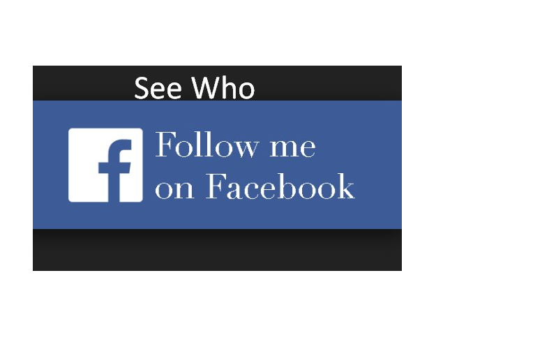 How do I See Who Follows Me on Facebook