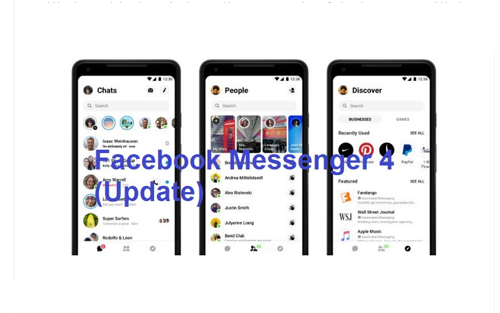 Latest Facebook Messenger App