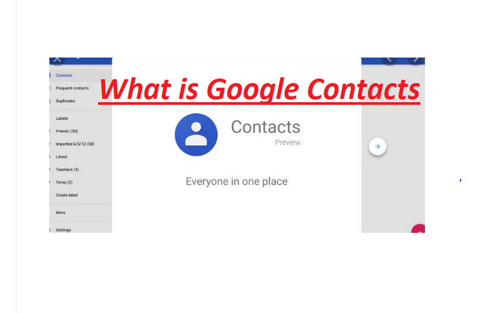 What is Google Contacts