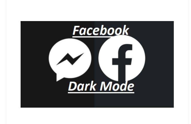 Dark Mode Facebook Settings Android