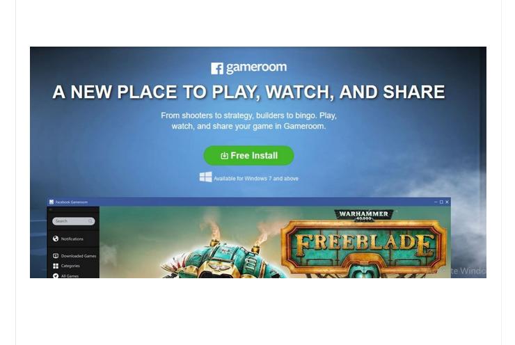 Facebook Gameroom Sign Up