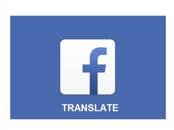 Facebook Translator App