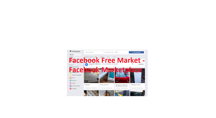 How To Use Facebook Free Marketplace