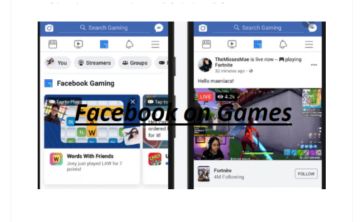 Play Games on Facebook