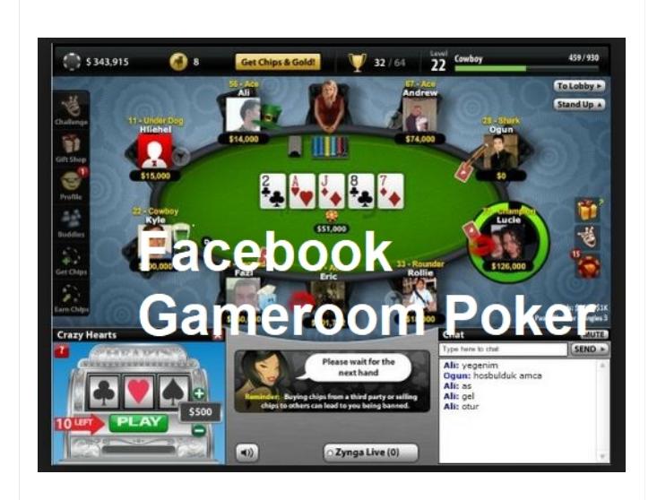 Poker Facebook Gameroom