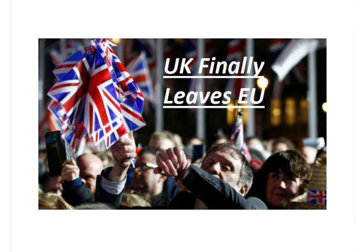 UK Finally Pulls Out from European Union