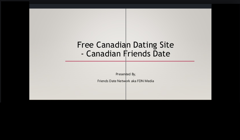 Canadian Dating Website