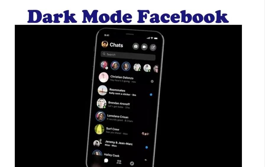 Enable Dark Mode on Facebook