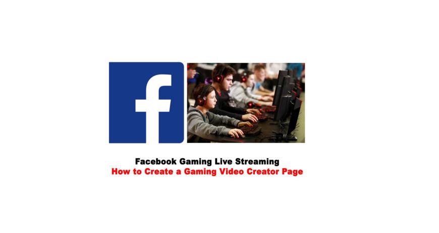 Facebook Gaming Live Streaming