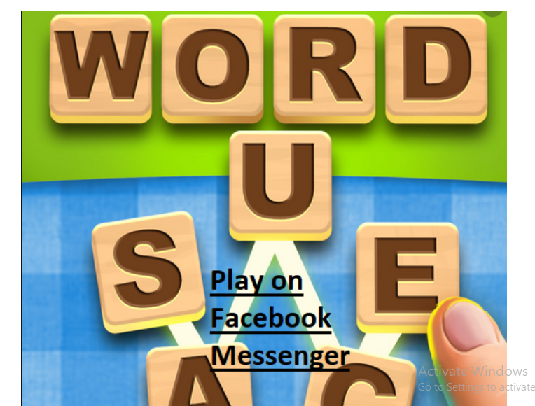 Facebook Messenger Word Sauce Game