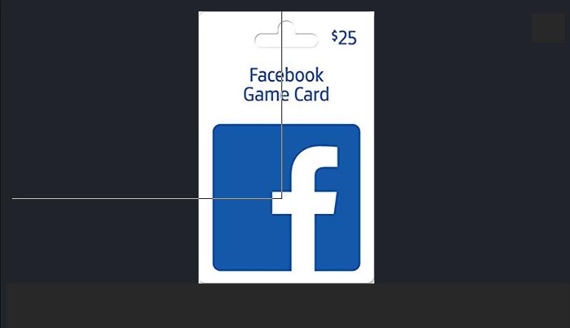 Facebook game cards
