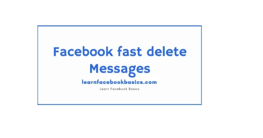 How to Delete all Facebook Messenger Messages