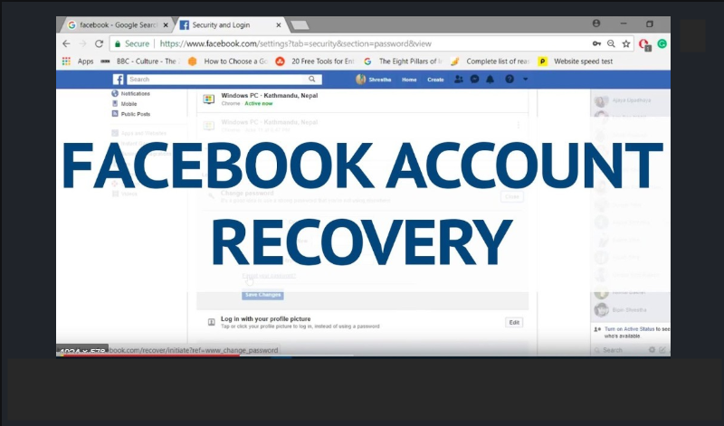 How to Recover Your Facebook Account