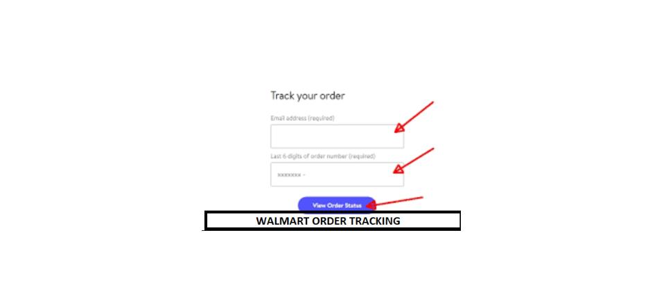 Walmart Order Tracking