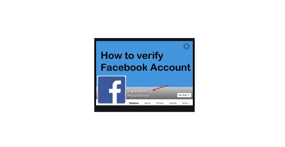 How To Verify Facebook Account