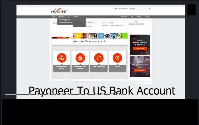 Payoneer Bank Transfer