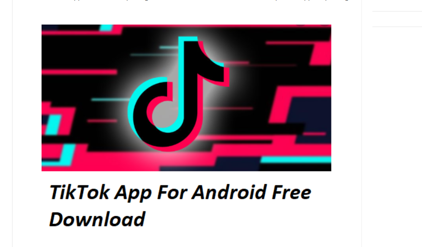 TikTok Free Download