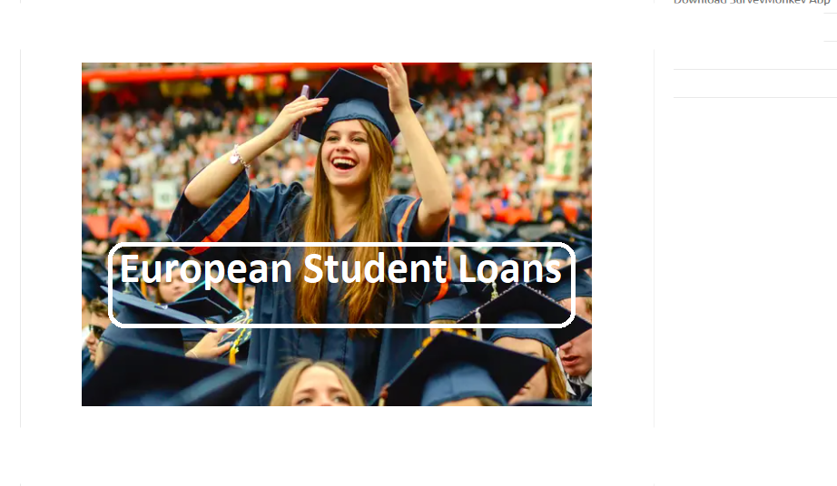 Bank Loans for Students in Europe