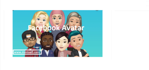 Bitmoji-Like Avatar on Facebook