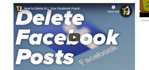 Delete All Facebook Posts Without Deleting Account