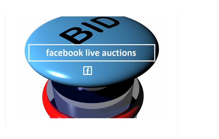 Facebook Live Auctions and Sales
