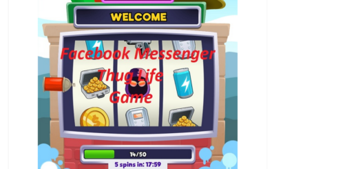 Facebook Messenger Thug Life game
