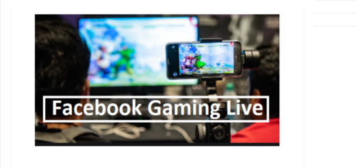 Facebook video game streaming