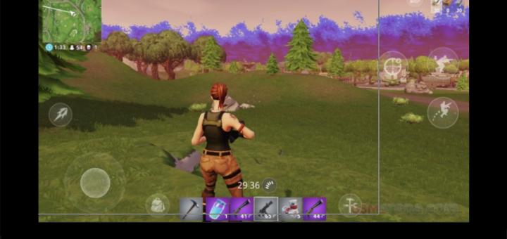 Fortnite mobile game