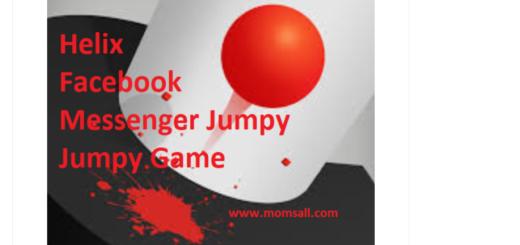 Helix Facebook Messenger Jumpy Jumpy Game