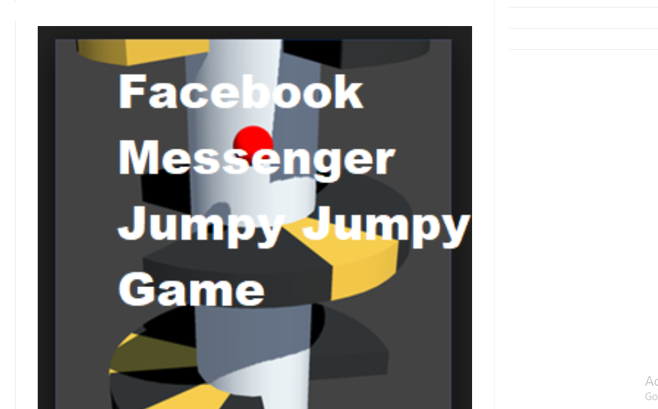 Helix Facebook Messenger Jumpy Jumpy Game