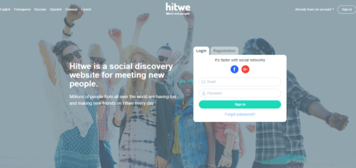 Hitwe Dating Website Sign up Account