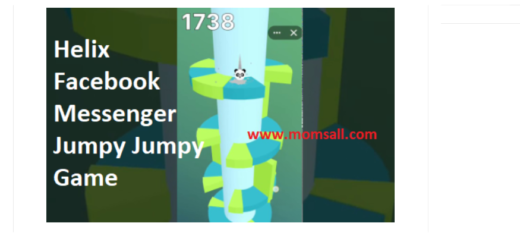 How to Play Helix Facebook Messenger Jumpy Jumpy Game