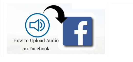 How to Upload Audio On Facebook