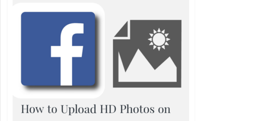 How to Upload HD Photos on Facebook